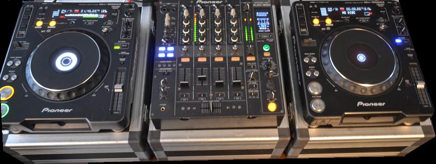 Pioneer CDJ1000MK3 + DJM800