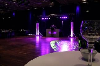 Bruiloft licht en geluid