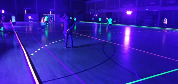 blacklight hockey